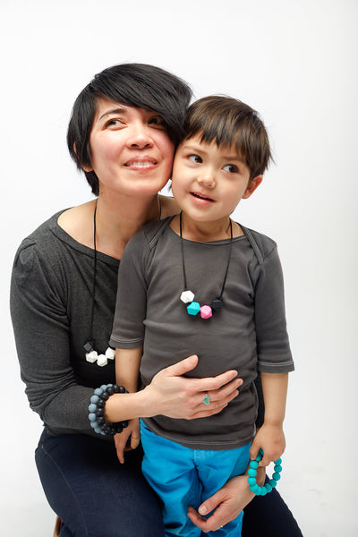 Kids (3+ years) Geometric Necklaces