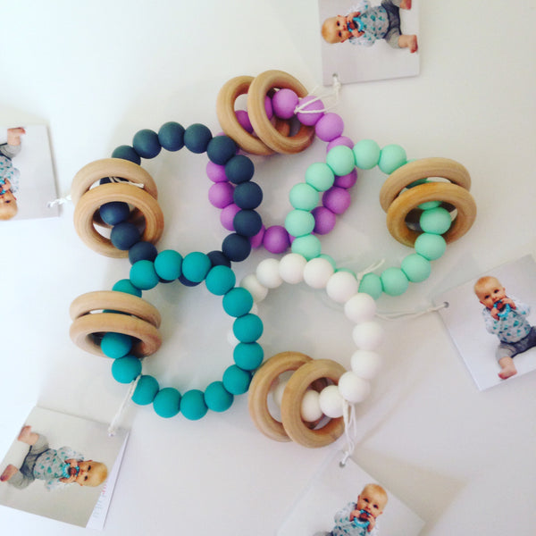 Wood Ring Teethers