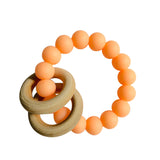 Wood Ring Teethers Rattles