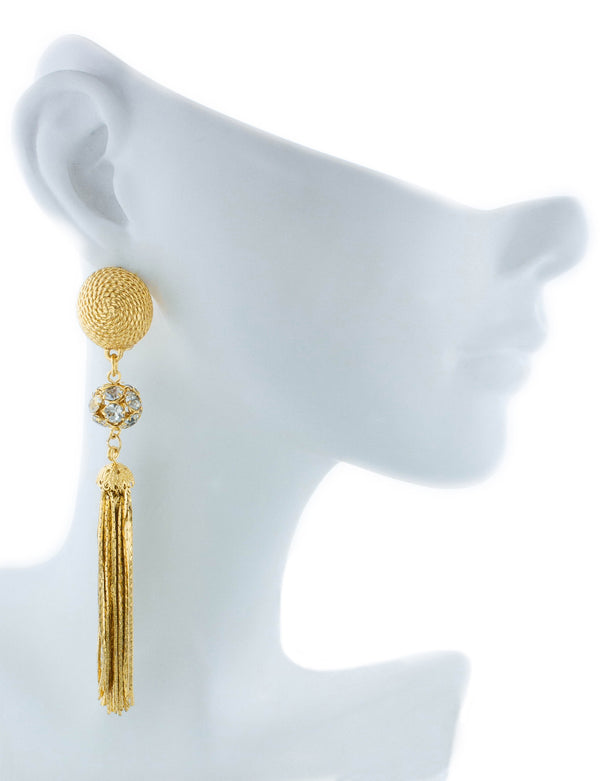Cannes Earrings - Yellow Gold