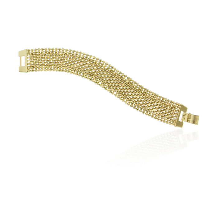 Balboa Bracelet- Yellow Gold