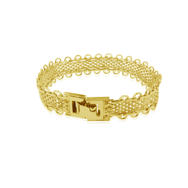 Lace Bracelet - Yellow Gold