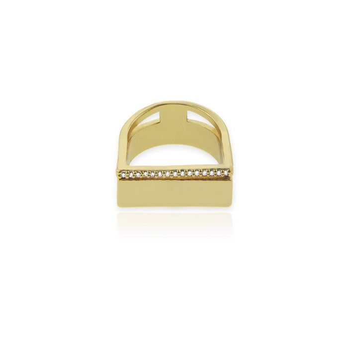 Tira Ring - Yellow Gold
