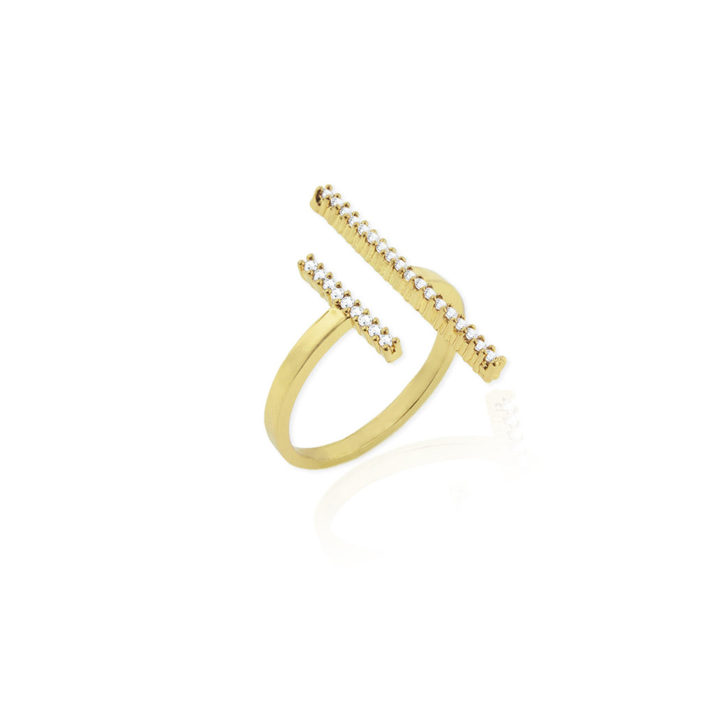 Bari Ring- Yellow Gold