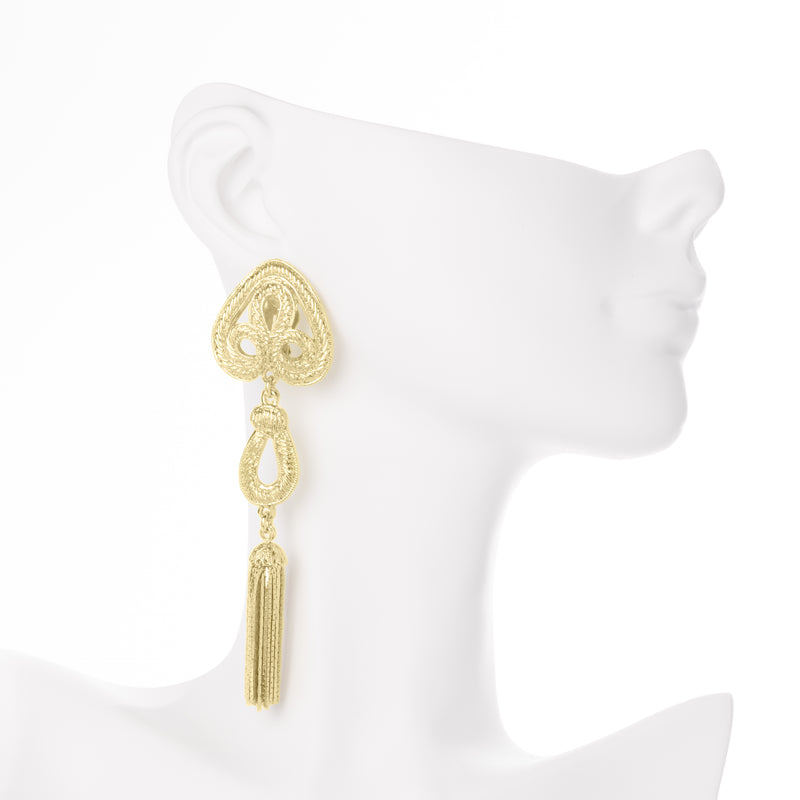 Granada Earrings - Yellow Gold