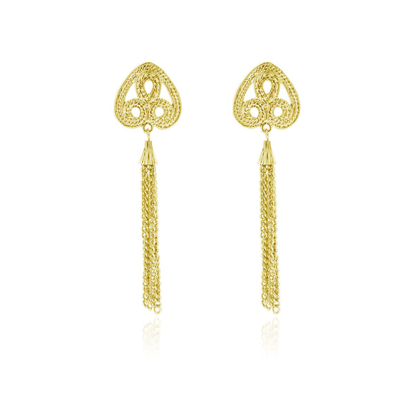 Glasgow Earrings - Yellow Gold