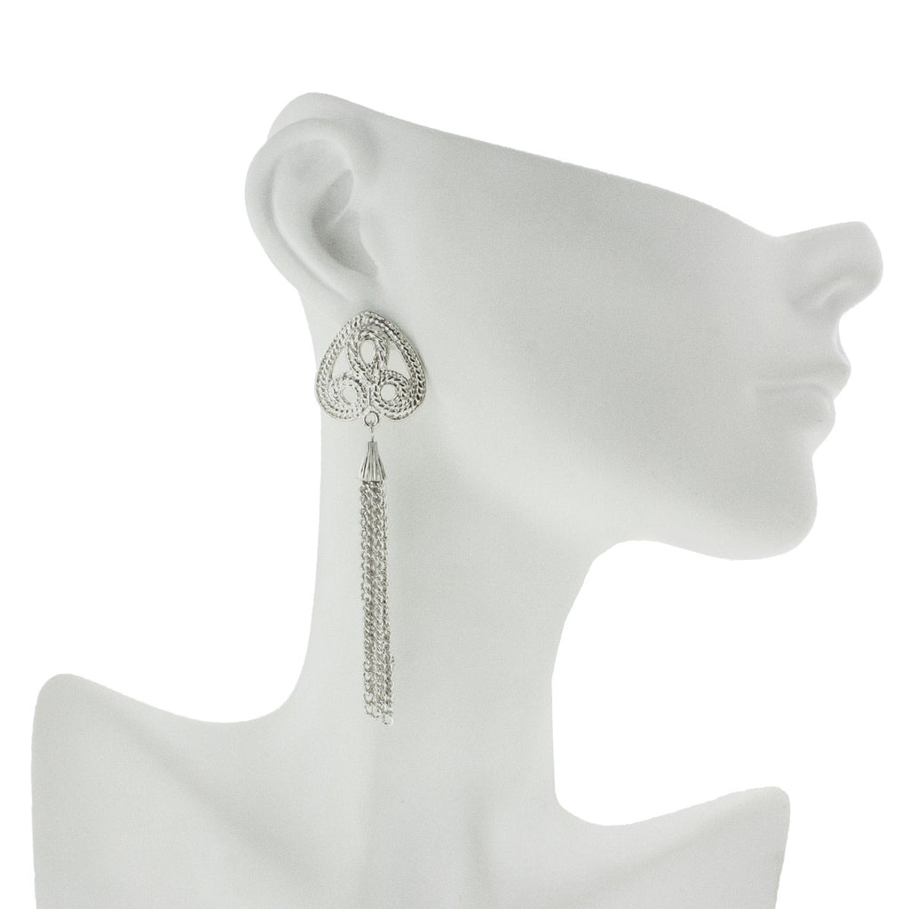 Glasgow Earrings- Silver