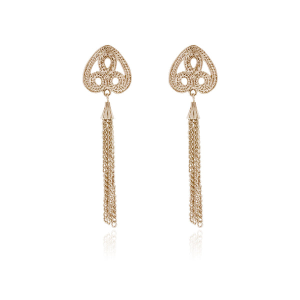 Glasgow Earrings- Rose Gold
