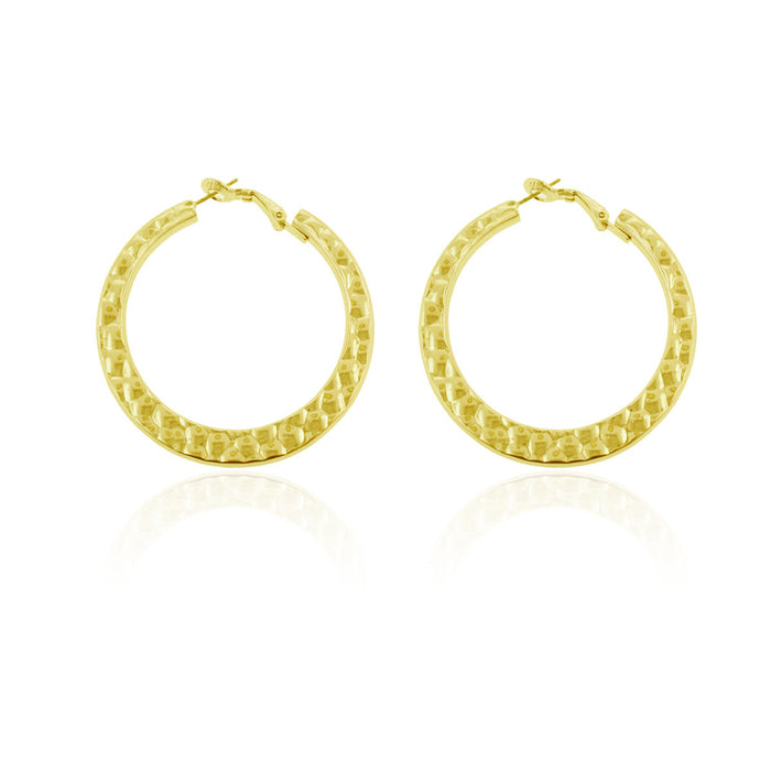 Iza Earrings- Yellow Gold