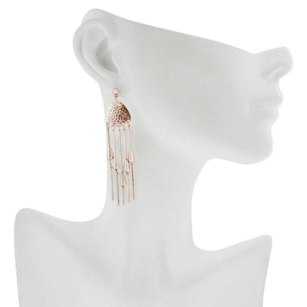 Gallant Earrings Rose Gold