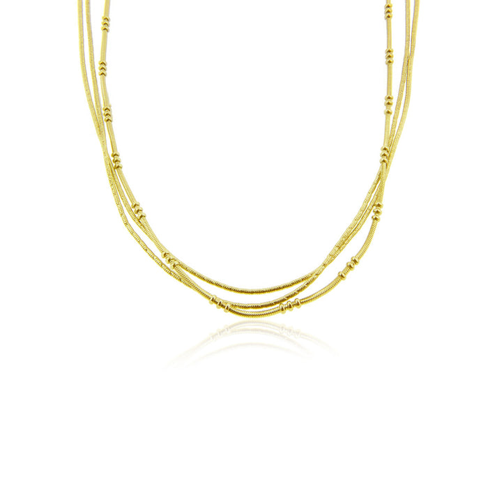 Tenza Necklace Gold