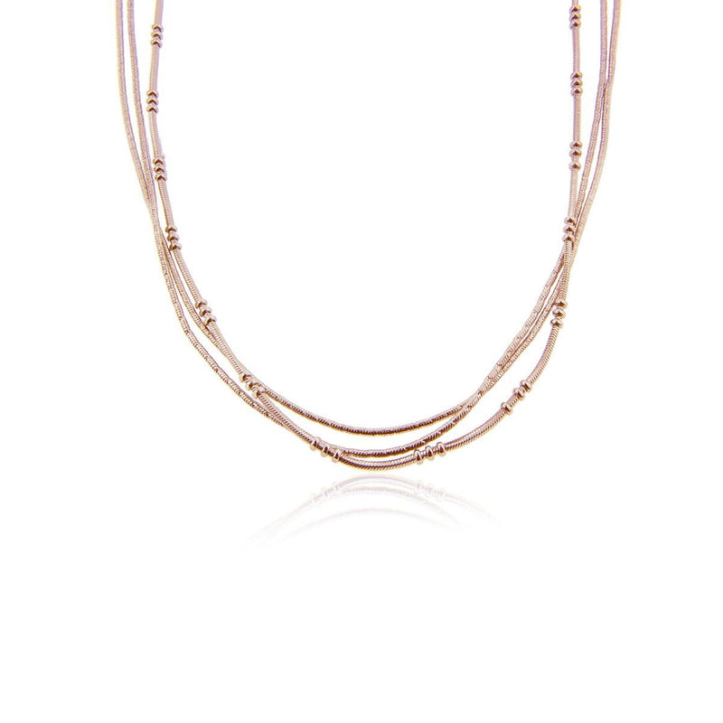 Tenza Necklace Rose Gold