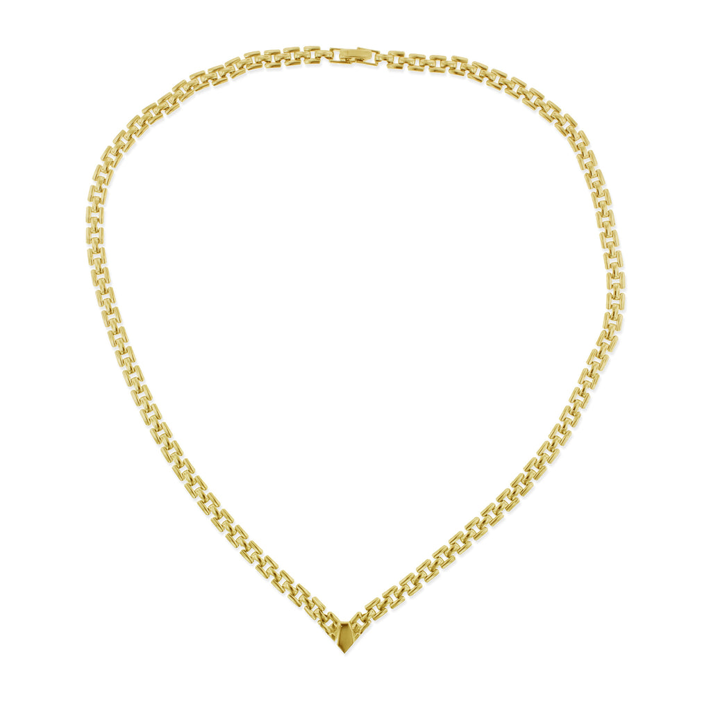 Utica Necklace- Yellow Gold