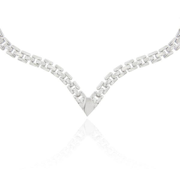 Utica Necklace- Silver