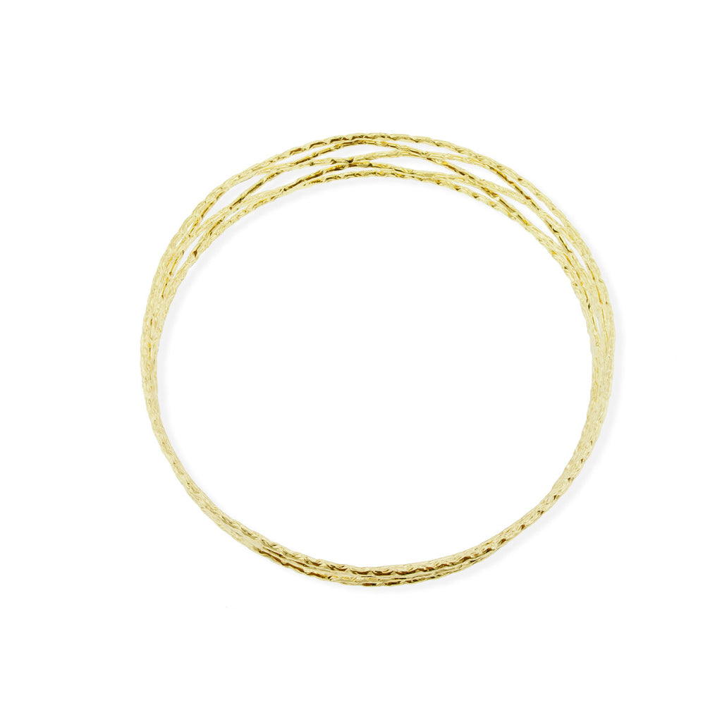 Le Havre Bangle - Yellow Gold
