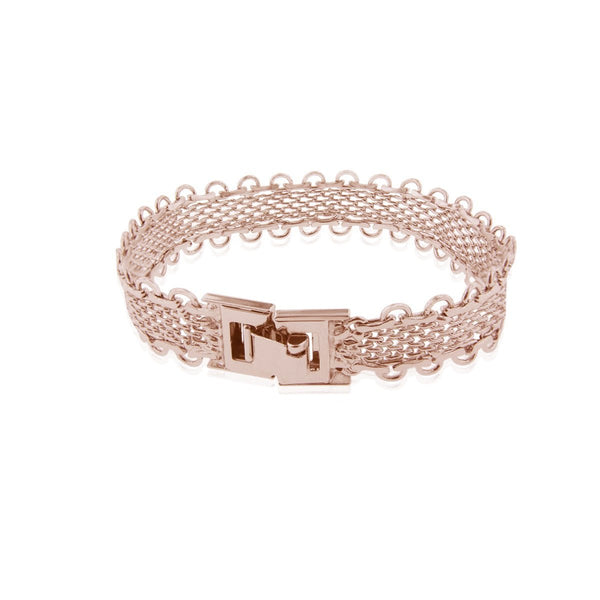 Lace Bracelet - Rose Gold