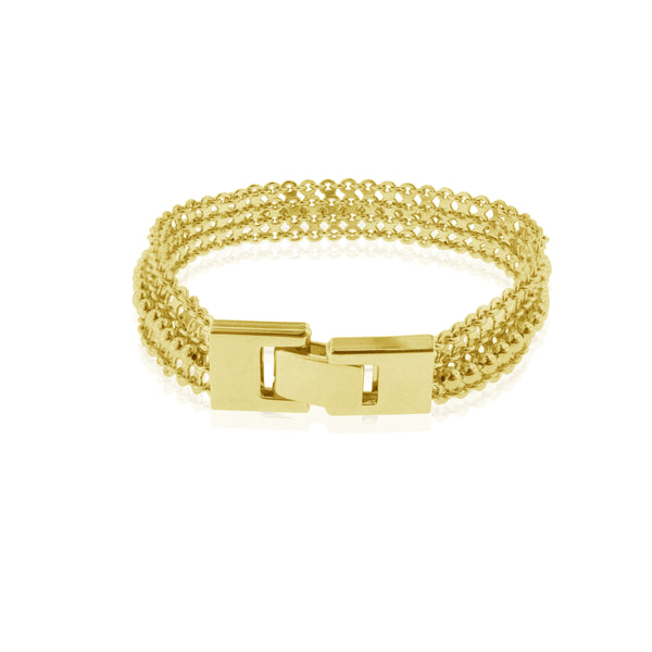Marseille Bracelet  - Yellow Gold