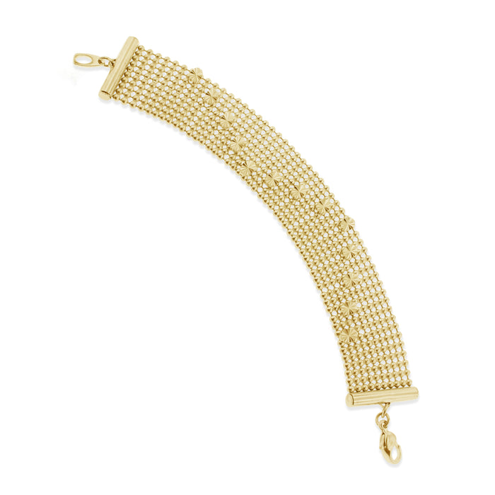 Nomad Bracelet -Yellow Gold