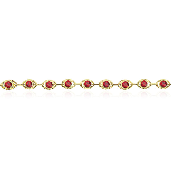 Marrakesh Bracelet- Red/Yellow Gold