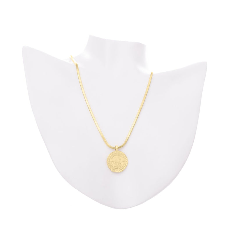 Krugerrand Necklace - Yellow Gold