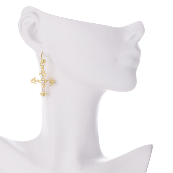 Spiruto Earrings - Yellow Gold