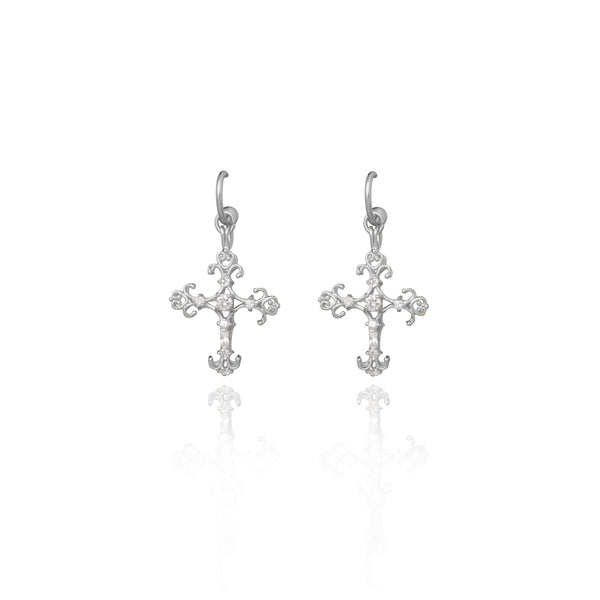 Spiruto Earrings - Silver