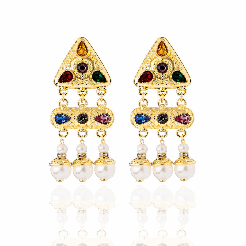 The Mulholland Earrings - Multi Color