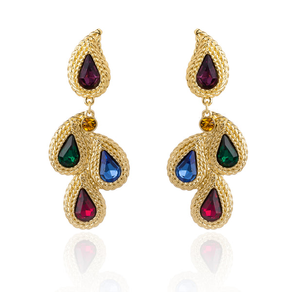 The Laurel Earrings - Multi Color