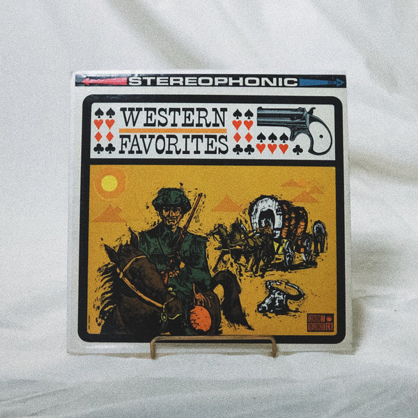 The Sons Of The New Frontier ‎– Western Favorites (vinyl record)