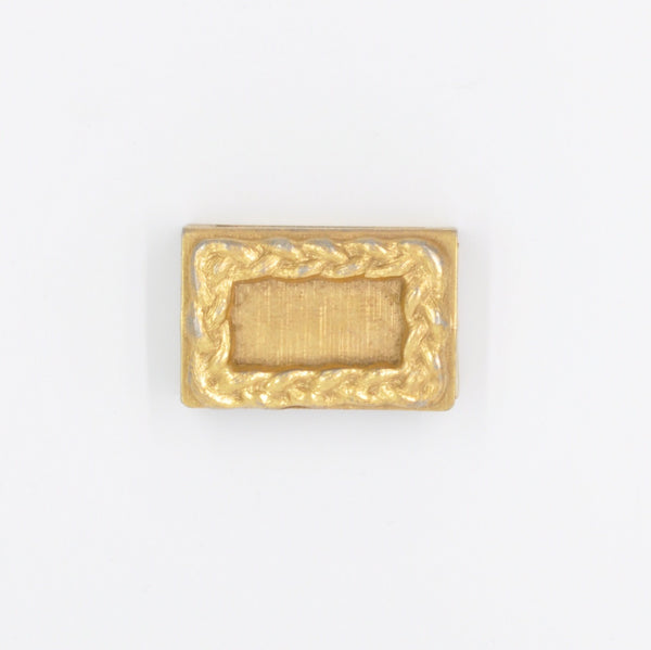 1920s Gold Plated Brass Match Box