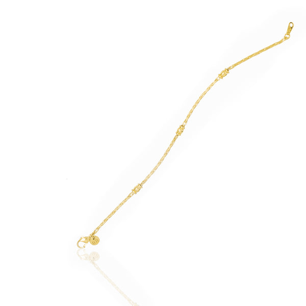 Asmaa Bracelet - Yellow Gold