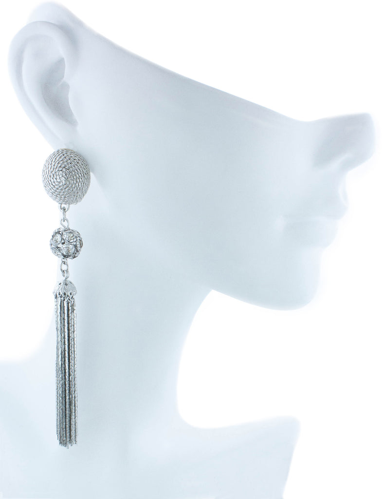 Cannes Earrings - Silver