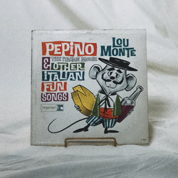 Lou Monte ‎– Pepino, The Italian Mouse & Other Italian Fun Songs