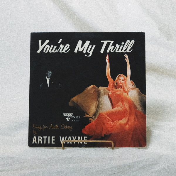 Artie Wayne ‎– You're My Thrill (vinyl record)