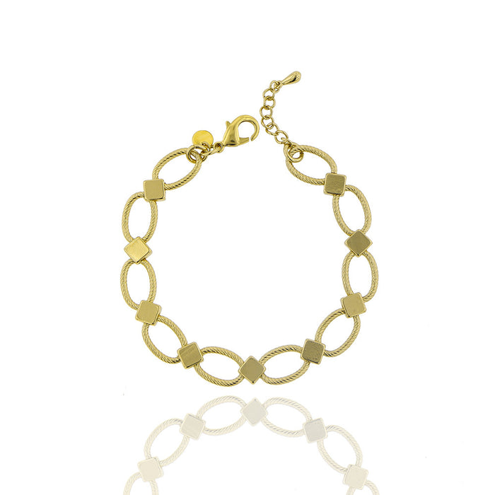 Oslo Bracelet - Yellow Gold