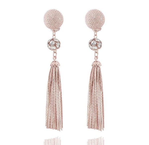 Cannes Earrings - Rose Gold