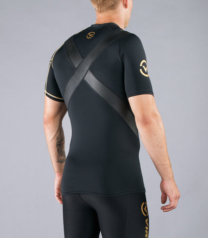 Men's Recovery Compression Top X-Form (Au7X) Black