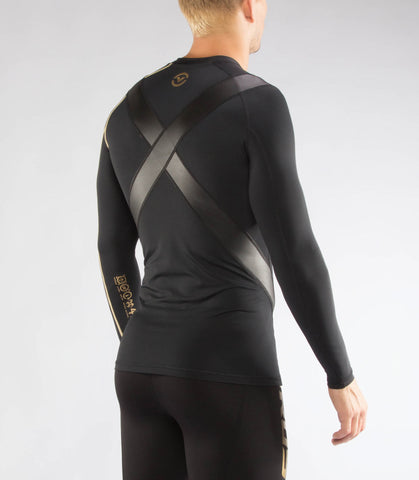 Au7X | BioCeramic™ X-Form Compression Top | Black