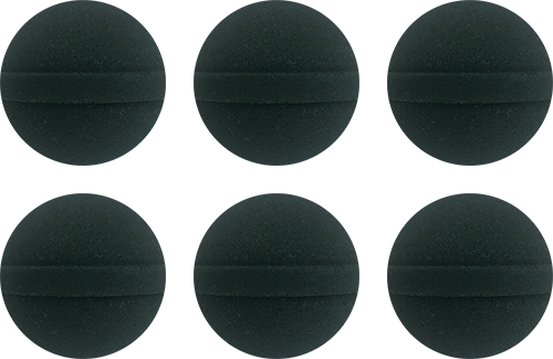 6 Mini Aromatherapy Bombs: Black