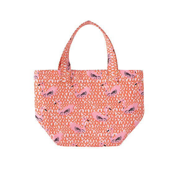 Canvas Carry All Tote Swan