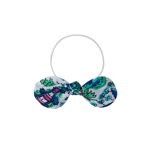 Elastic Floral Hair Bow
