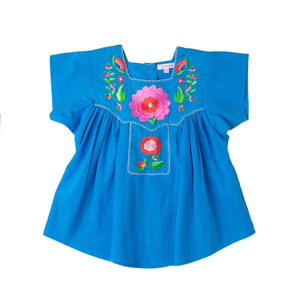 Frida Embroidered Top