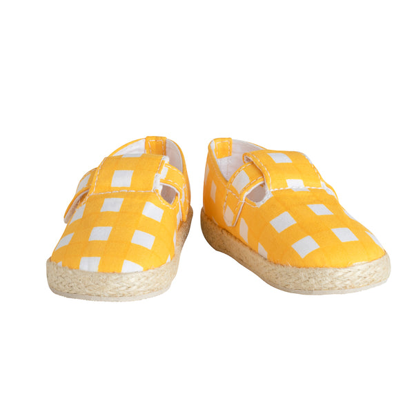Mini Espadrille Marigold Checks