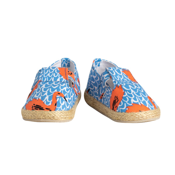 Mini Espadrille Shoes Swan