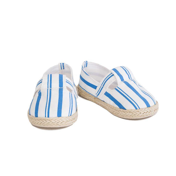 Mini Espadrille Blue Stripes