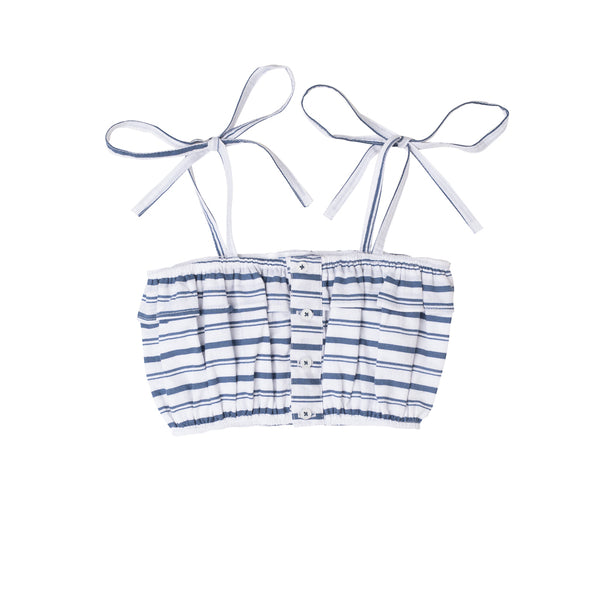 Mini Frill Top Stripes