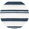 double stripe french blue