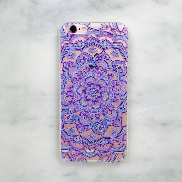 Lilac Vines iPhone Case