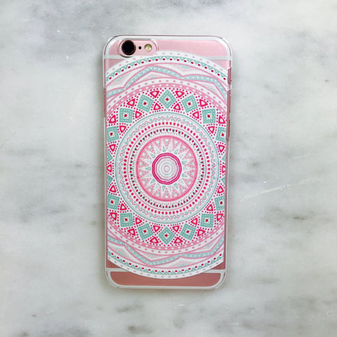 Boho Pattern iPhone Case