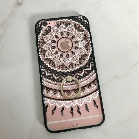 Black Cyanea iPhone Case